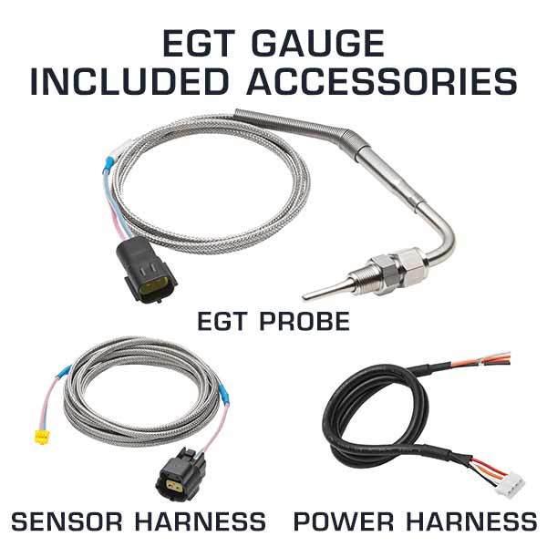 EGT Gauge Included Accessories