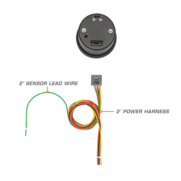 Narrow Band Air Fuel Gauge Parts & Wiring Schematic