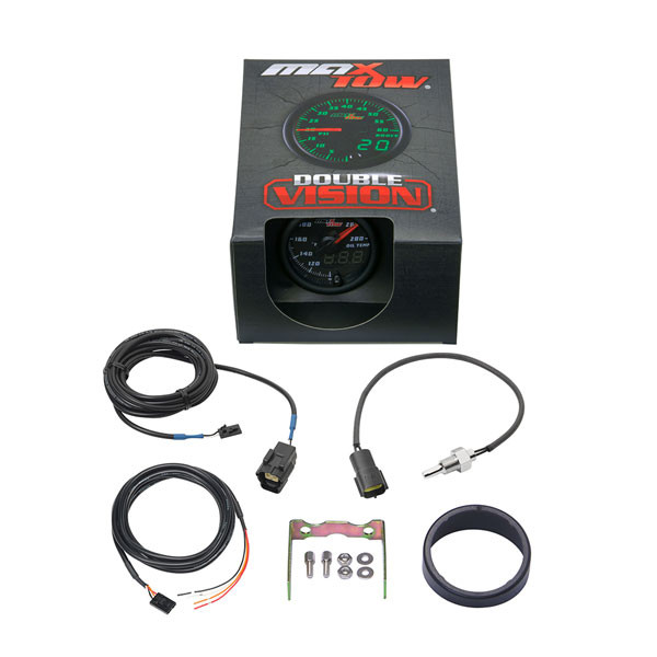 Black & Green MaxTow Oil Temperature Gauge Unboxed