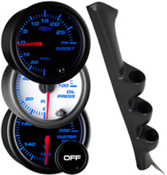1998-2002 Honda Accord Sedan Custom 7 Color Gauge Package Gallery