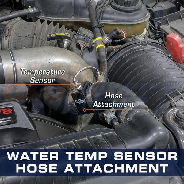Water Sender Hose Attachment Installed