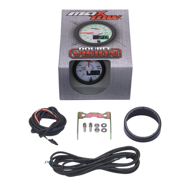 White & Green MaxTow 4,000 PSI HPOP Gauge Unboxed