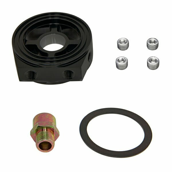 Components Included with Oil Filter Sandwich Adapter
