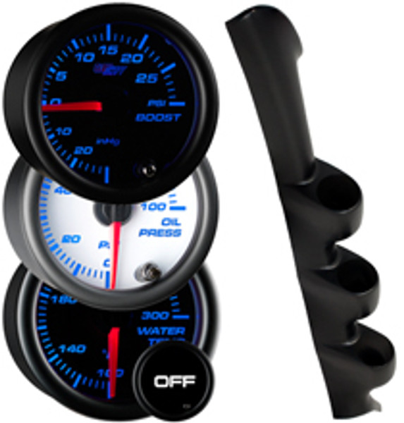 1994-2002 Ford Mustang Custom 7 Color Gauge Package Gallery