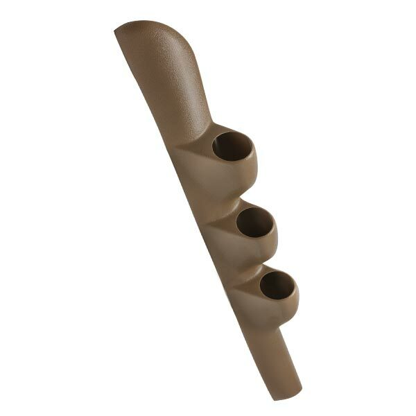 Tan Triple Pillar Gauge Pod for 1998-2002 Dodge Ram Cummins