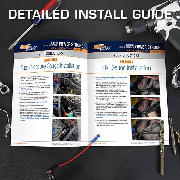 1999-2007 Ford Super Duty Power Stroke Install Guide