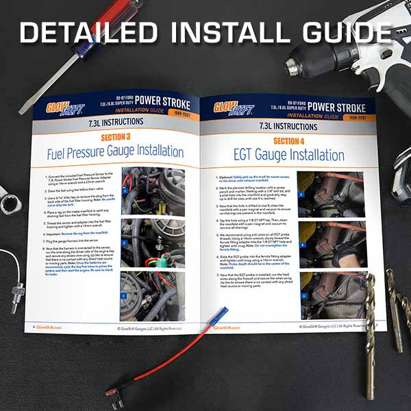 1999-2007 Ford Super Duty Power Stroke Install Guide
