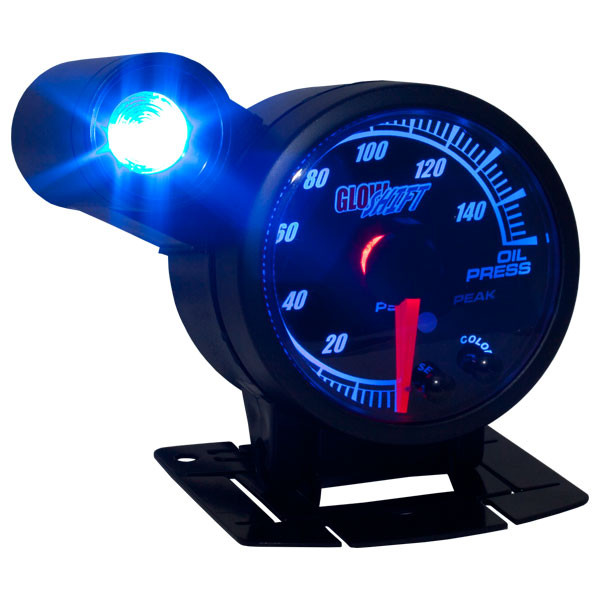 Elite Series Add-On External Warning Light Attached to Gauge