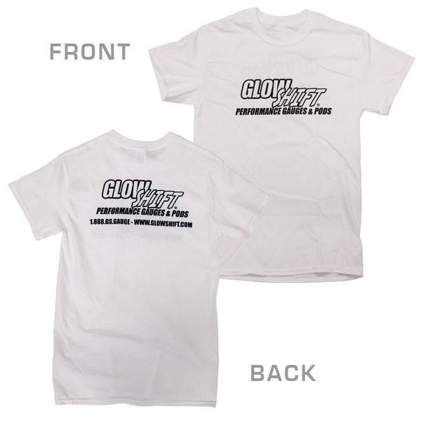 White GlowShift Signature T-Shirt