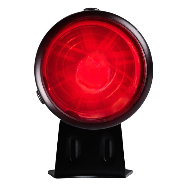 Black & Red LED Adjustable Shift Light Straight View