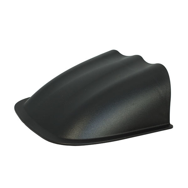 Universal 60mm Triple Gauge Dashboard Pod with Dome Lip Back View