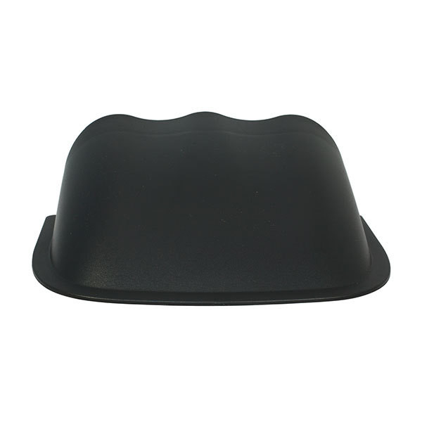 Universal 60mmTriple Gauge Dashboard Pod with Dome Lip Back View