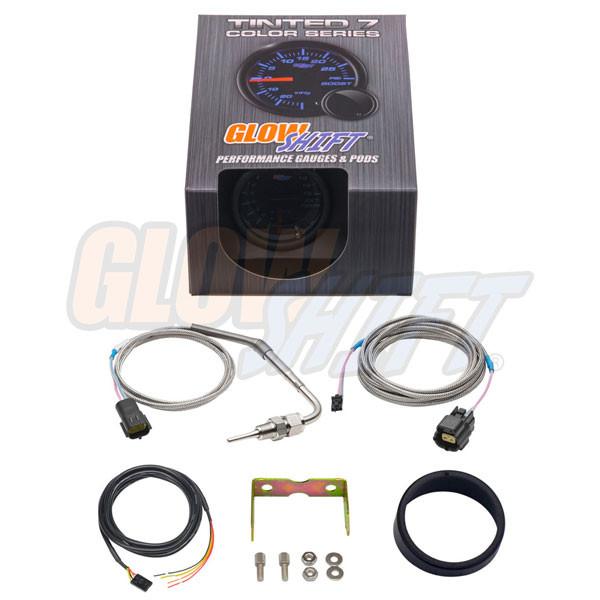 GlowShift Tinted 7 Color 1500° F Pyrometer EGT Gauge Unboxed