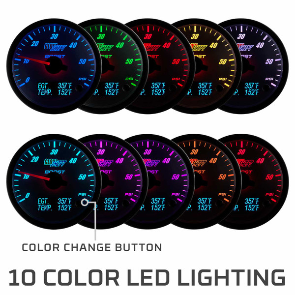 10 Solid Colors Included