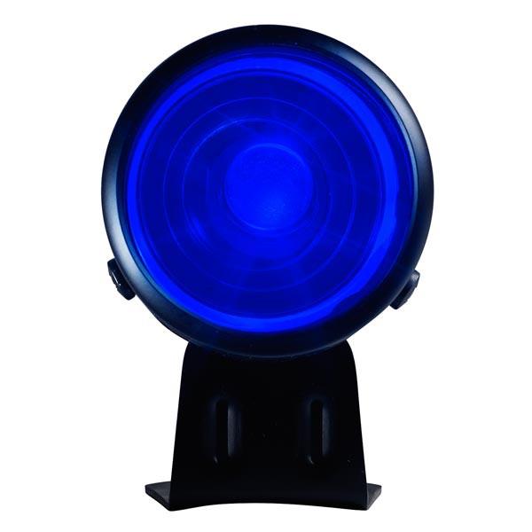 Black & Blue LED Adjustable Shift Light Straight View