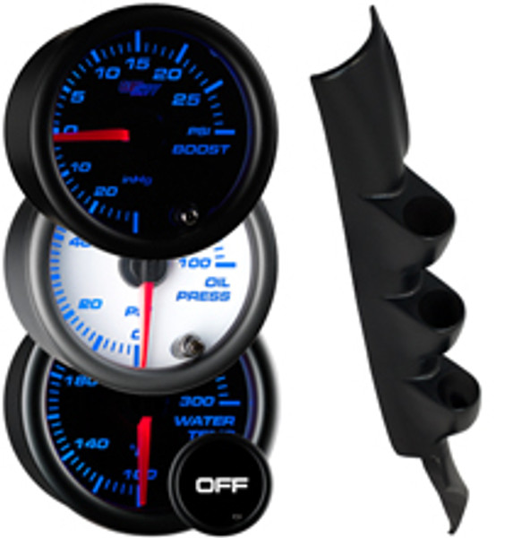 1993-2002 Pontiac Firebird T-Top Custom 7 Color Gauge Package Gallery