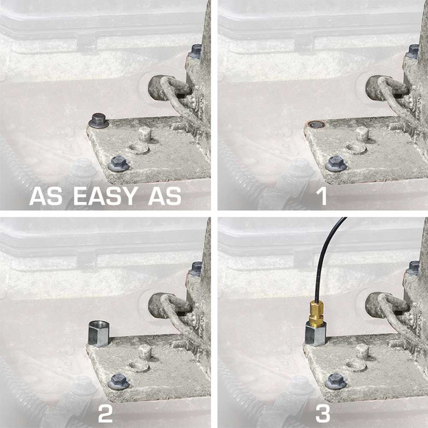 Boost Bolt Installation as Easy as 1-2-3