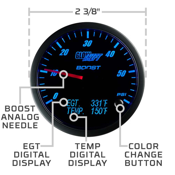 3in1 Combo Gauge Features