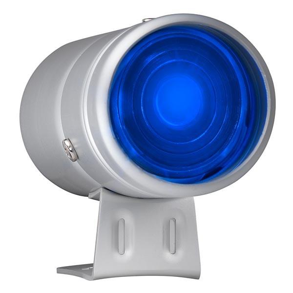 Silver & Blue LED Adjustable Shift Light