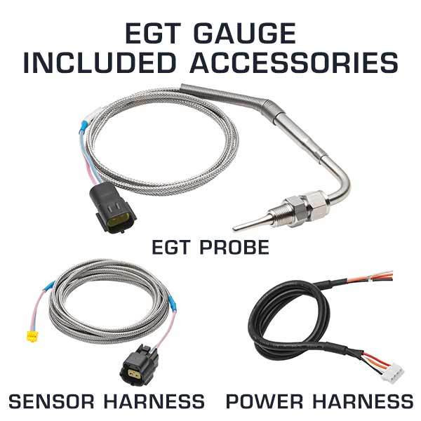 EGT Gauge Included Accessories