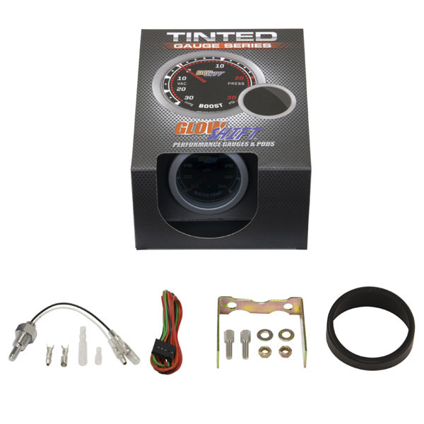 GlowShift Tinted Water Temperature Gauge Unboxed