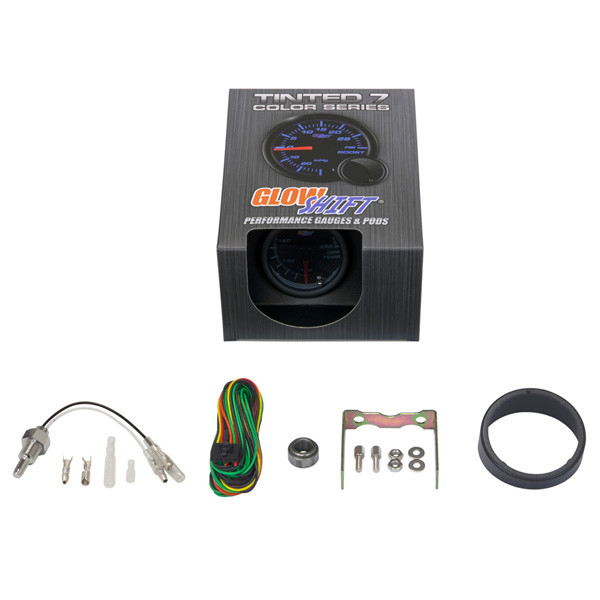 GlowShift Tinted 7 Color Differential Temperature Gauge Unboxed
