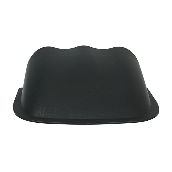 Universal Triple Gauge Dashboard Pod with Dome Lip Back View