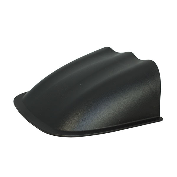 Universal Triple Gauge Dashboard Pod with Dome Lip Side View Angled