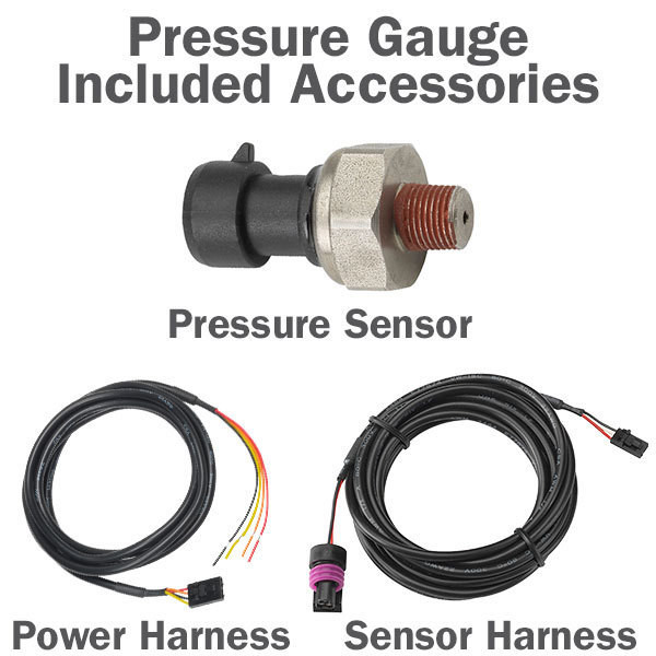 Pressure Gauge Included Accessories