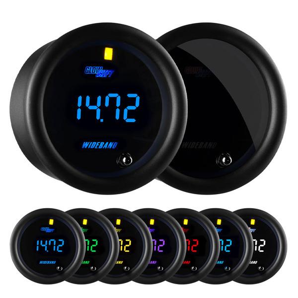 Tinted 7 Series Digital Wideband Air/Fuel Ratio Gauge