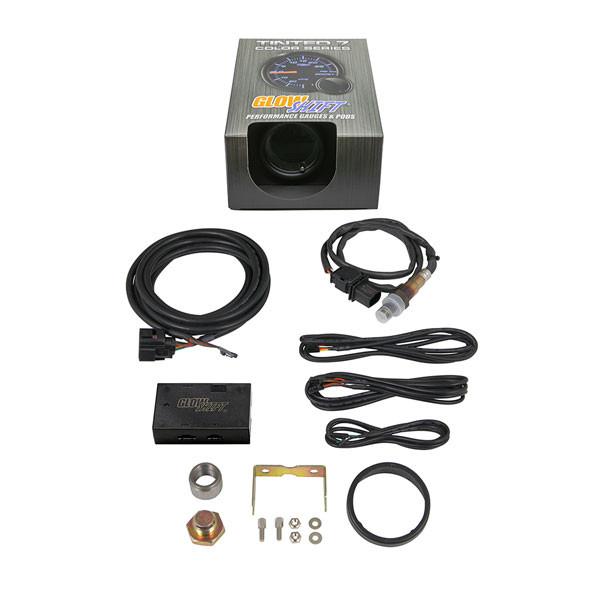 Tinted 7 Color Digital Wideband Air/Fuel Ratio Gauge Unboxed