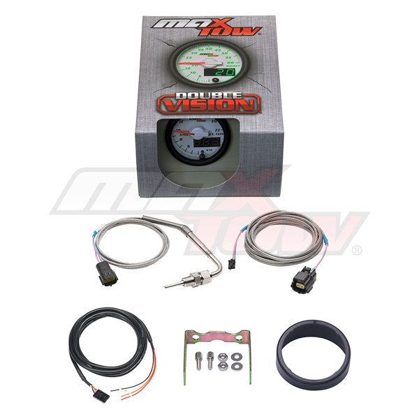 White & Green MaxTow 2200 Degree F Exhaust Gas Temperature Gauge Unboxed