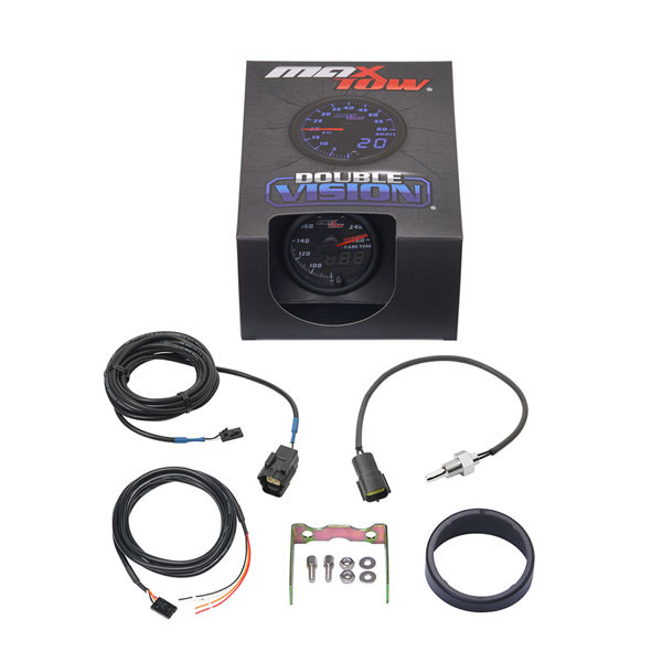 Black & Blue MaxTow 260° F Transmission Temperature Gauge