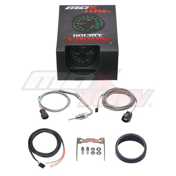 Black & Green MaxTow 1500° F Pyrometer EGT Gauge Unboxed