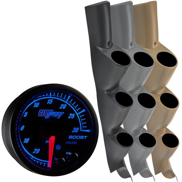 2011-2016 Ford Super Duty Power Stroke Custom Elite Gauge Package Thumb