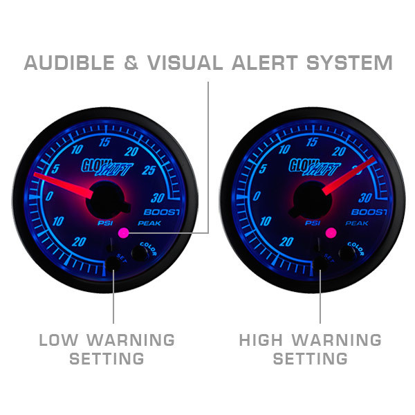 Audible & Visual Alert System - Programmable High & Low Warnings