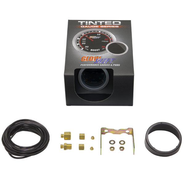 GlowShift Tinted 35 PSI Boost Gauge Unboxed
