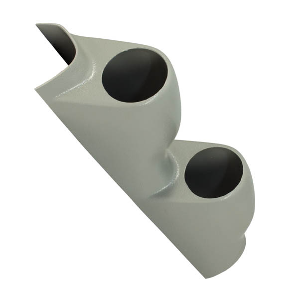 1992-1995 Honda Civic Gray Dual Pillar Pod