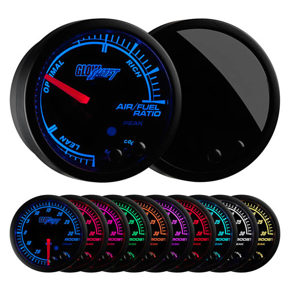 Elite 10 Color Air/Fuel Ratio Gauge