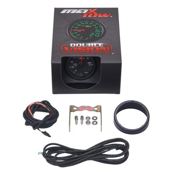 Black & Green MaxTow 4,000 PSI HPOP Gauge Unboxed