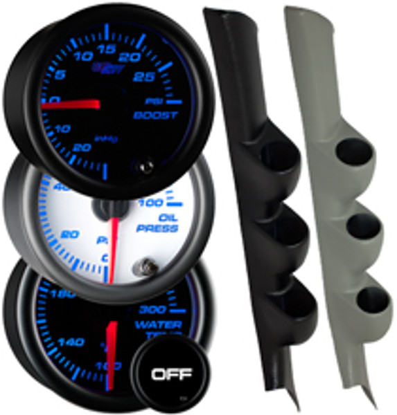 2002-2006 Acura RSX Custom 7 Color Gauge Package Gallery