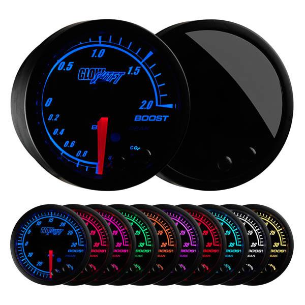 Elite 10 Color BAR Electronic Boost/Vacuum Gauge