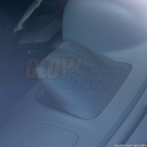 2002-2007 Subaru Impreza WRX Fiberglass Triple Dashboard Pod - Top View