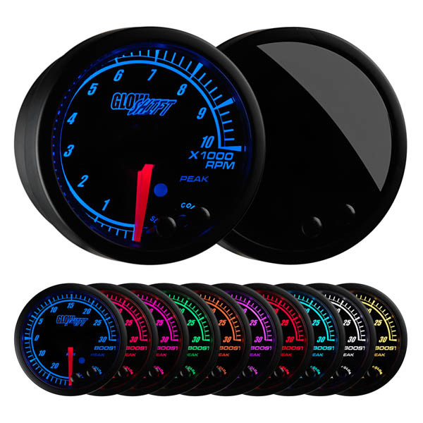 Elite 10 Color Tachometer Gauge