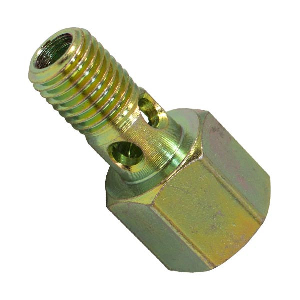 Cummins 24 Valve Fuel Pressure Banjo Bolt Adapter