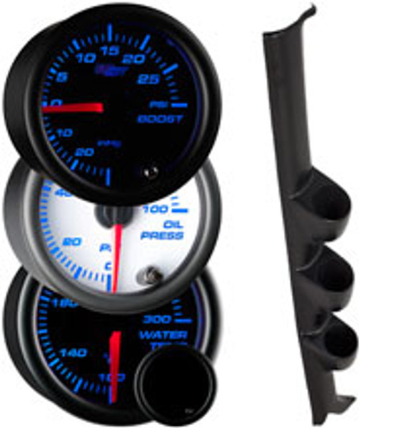 1988-1991 Honda Civic Custom 7 Color Gauge Package Gallery