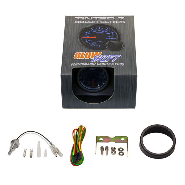 GlowShift Tinted 7 Color Celsius Water Temperature Gauge Unboxed
