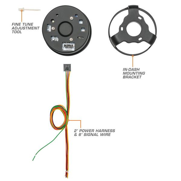 Speedometer Gauge Parts & Wiring Schematic