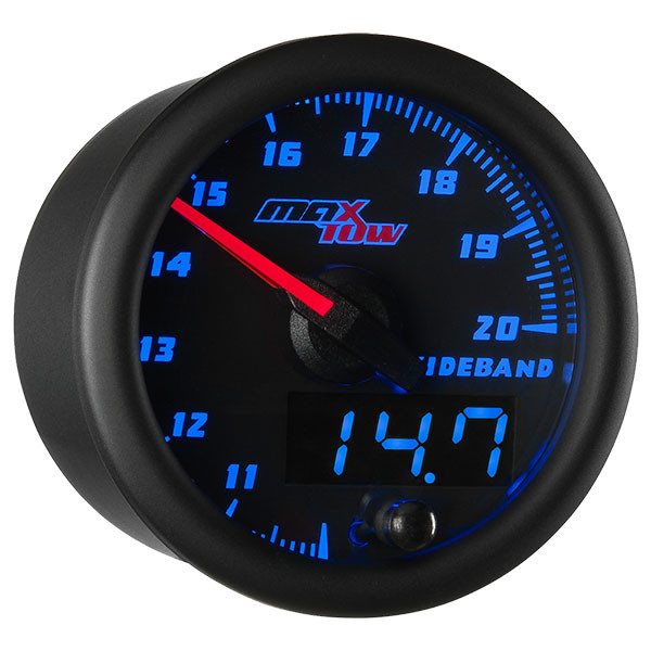Black & Blue MaxTow Wideband Air/Fuel Ratio Gauge