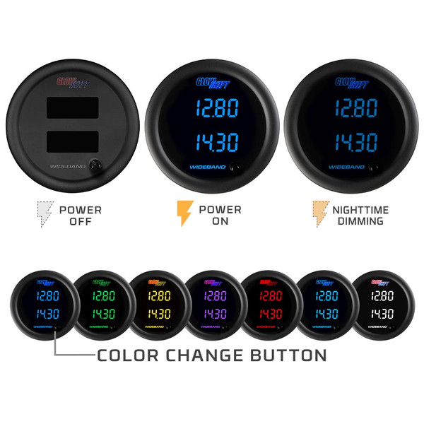 Choose from 7 Solid Colors